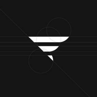 black line logo mark by pacholczyk.co