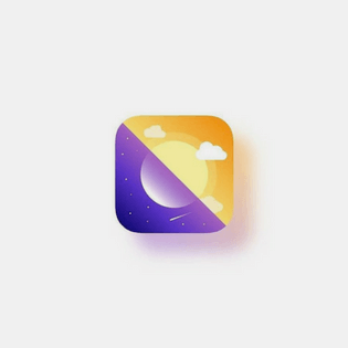 weather icon logo by shibupg